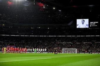 Dos partidos a puerta cerrada para Inglaterra. EFE