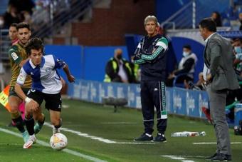 El Betis ganó 0-1 en Mendizorroza. EFE