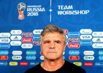 Celso Otero defendió al cuerpo técnico de Uruguay. EFE