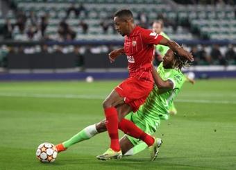 Fernando habló en la previa al choque ante el Lille. EFE