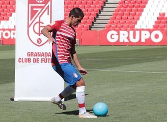 Abram confía en romper la racha de Osasuna. EFE/Pepe Torres