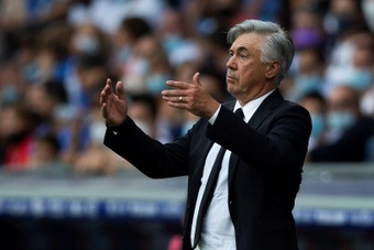 Ancelotti todavía no sabe lo que es ganar en el feudo azulgrana. EFE/Archivo