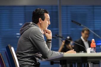 Emery sabe que se medirá al mejor Athletic. EFE
