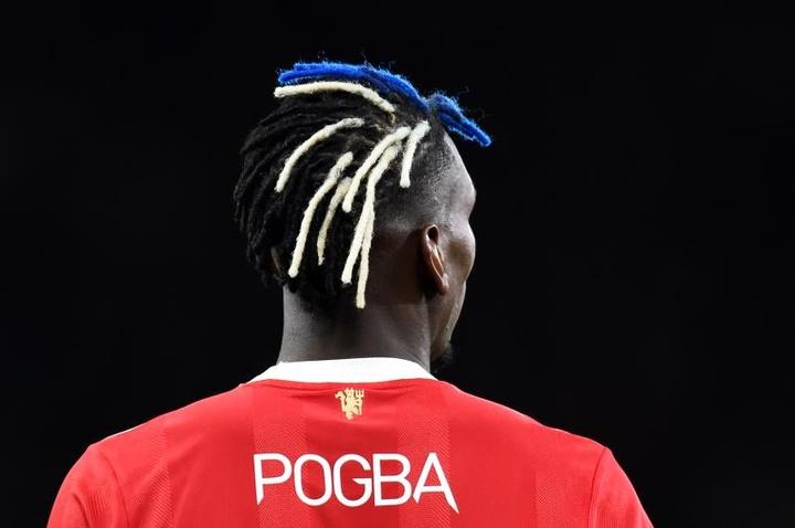 Pogba presentó las botas en sus redes sociales oficiales. EFE