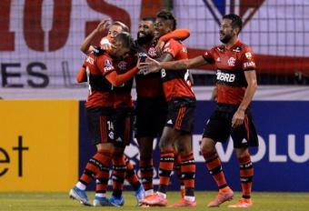Flamengo escribirá en mandarín los nombres de sus jugadores . EFE