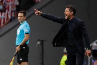 El Atleti se enfrenta al líder en Liga. EFE