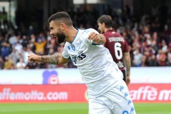 El Empoli se impuso a la Salernitana. EFE