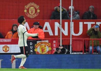 Un día inolvidable para Salah. EFE
