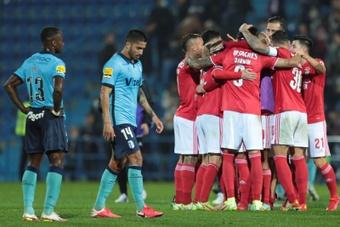 Benfica venció en su partido. EFE