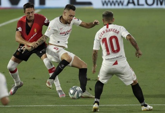 Mallorca y Sevilla se enfrentan en la undécima jornada de Liga. EFE