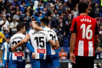El Espanyol, con la historia reciente de su lado ante un Athletic en racha. EFE