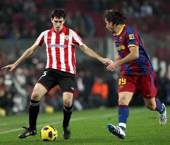 El Barça, verdugo de Iraola en innumerables ocasiones. EFE