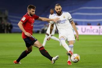 Moncayola destacó el empate ante el Madrid. EFE