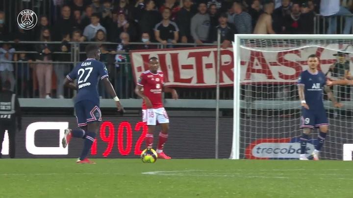 Le superbe but de Gana Gueye face à Brest. Dugout