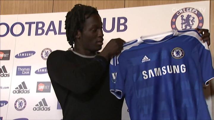 Momentos da primeira passagem de Lukaku pelo Chelsea. DUGOUT