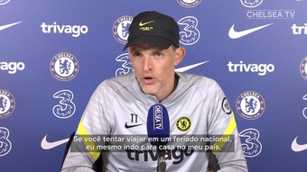 Tuchel mantém esperanças de ter Thiago Silva no duelo contra Aston Villa. DUGOUT
