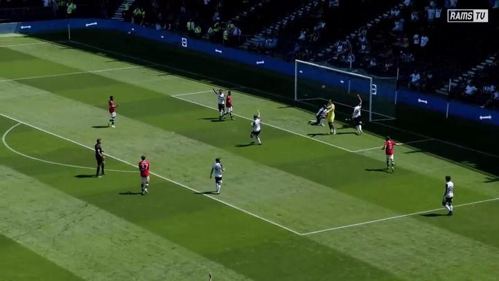 Man Utd got a 1-2 victory over Derby in pre-season. DUGOUT