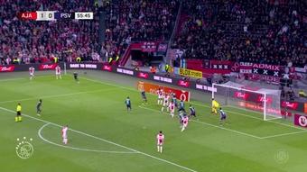 Antony marca em goleada do Ajax.