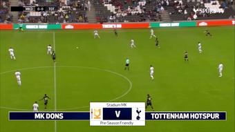 Son brilló en una nueva victoria de pretemporada del Tottenham. Dugout