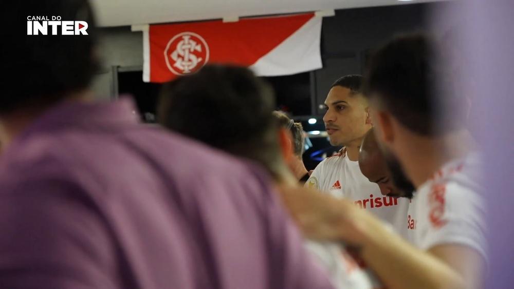 Guerrero inflama vestiário do Inter antes de goleada sobre o Fla. DUGOUT