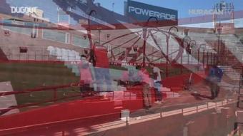 El 'nuevo' estadio de Huracán tras el cambio de cara. DUGOUT