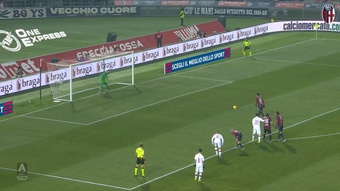 Bologna have scored some great goals v AC Milan in the past. DUGOUT