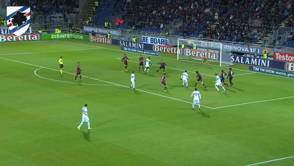 Sampdoria have scored some crackers at Cagliari in the past. DUGOUT