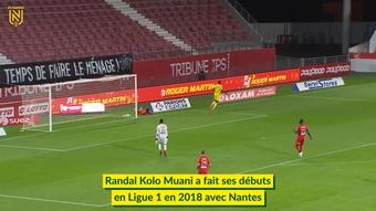 L'éclosion de Randa Kolo Muani à Nantes. dugout