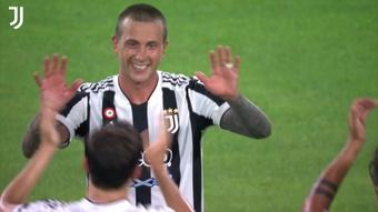 Il bellissimo gol di Bernardeschi contro la Dea. Dugout