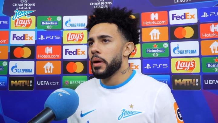Claudinho fala sobre 1º gol na Champions. DUGOUT