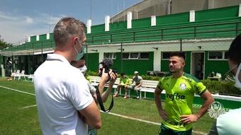 Willian Bigode agradece sensibilidade do Palmeiras após morte do filho. DUGOUT