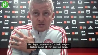 Ole Gunnar Solskjaer refused to criticise Anthony Martial in his post match press conference. DUGOUT