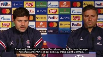 Messi est intégré selon Pochettino. Dugout