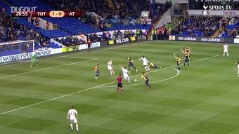 Il gol straordinario di Lamela. Dugout
