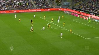 Le but de Denis Zakaria contre Dortmund. DUGOUT