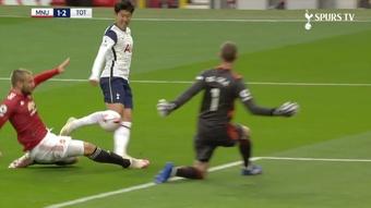 Tottenham hit Man Utd for six at Old Trafford. DUGOUT