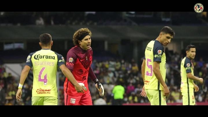 Cáceres cree que el América tiene una de las mejores defensas del torneo. DUGOUT