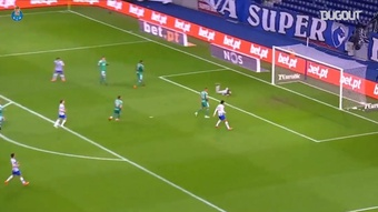 Marchesin set up Joao Mario with a sensational pass. DUGOUT