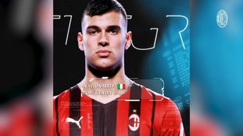 Il Milan annuncia l'arrivo di Pellegri. Dugout