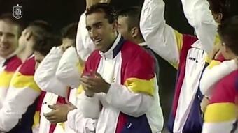 Relembre a medalha de ouro da Espanha.