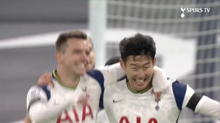 Giovani Lo Celso scored as Tottenham beat Man City 2-0. DUGOUT