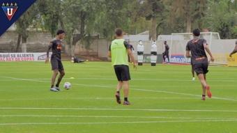 VÍDEO: así prepara Liga de Quito su duelo frente a Paranaense. DUGOUT