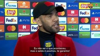 Daniel Alves recorda e escolhe seu El Clásico favorito dos tempos de Barça. DUGOUT