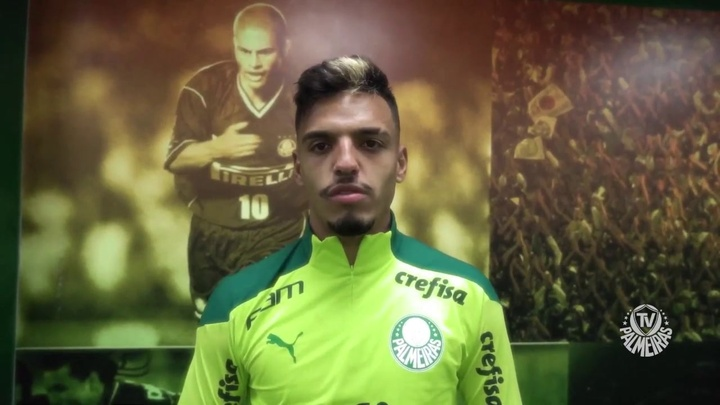 Gabriel Menino promete torcer para o Palmeiras direto de Tóquio. DUGOUT