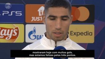 Hakimi destaca luta até o fim do PSG por vitória sobre o RB Leipzig. DUGOUT