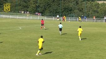 Renaud Emond got the only goal as Nantes beat Guingamp. DUGOUT