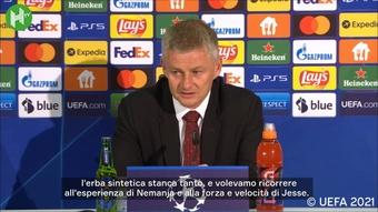 Solskjaer spiega la sostituzione di Cristiano Ronaldo. Dugout