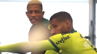 Palmeiras faz último treino antes de viagem para encarar o Ceará. DUGOUT