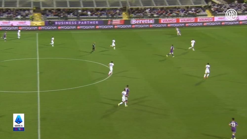 L'Inter batte i viola in rimonta. Dugout