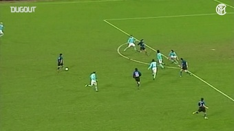 I migliori gol in trasferta dell'Inter contro la Lazio. Dugout
